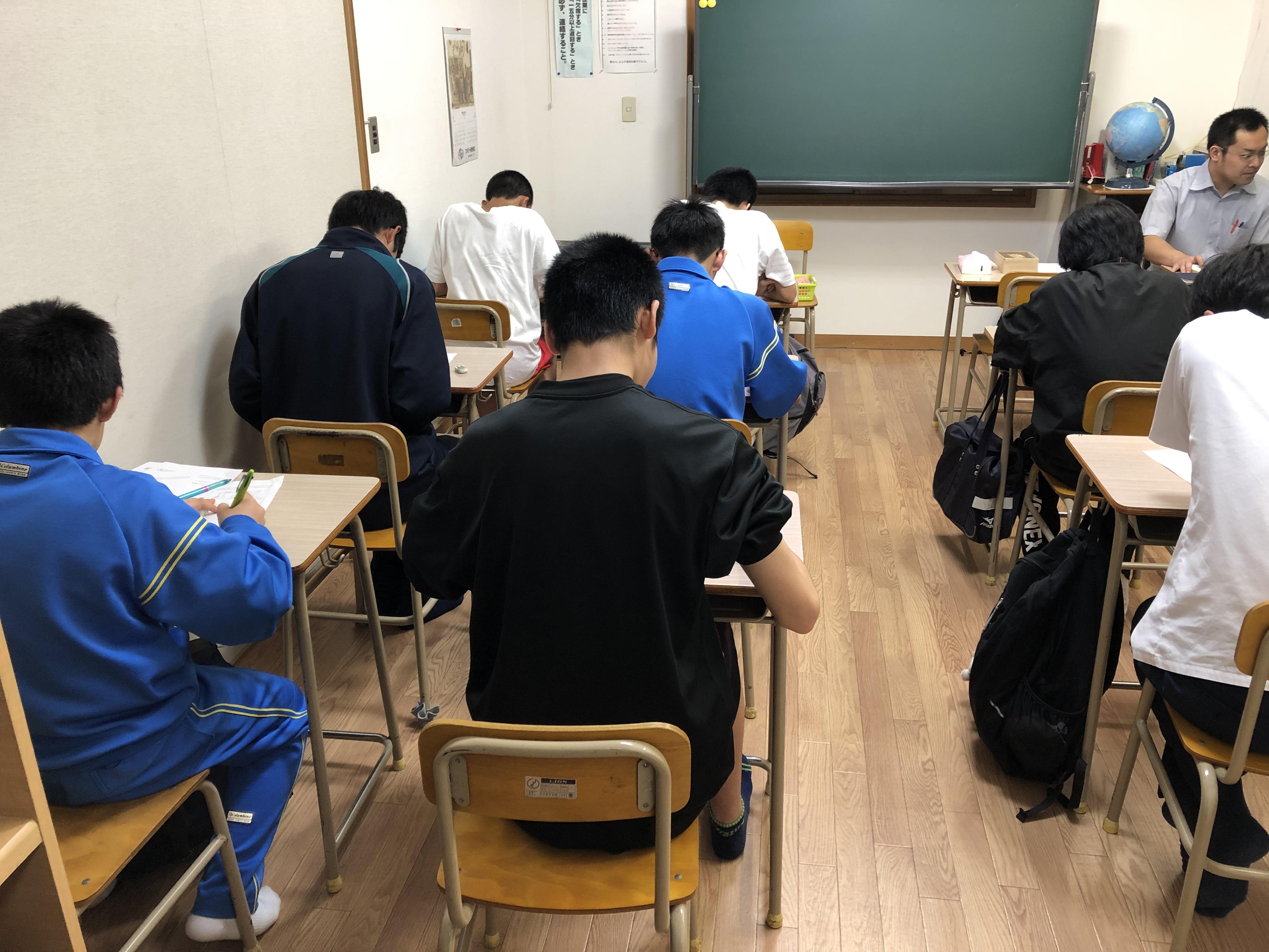自習室の光景